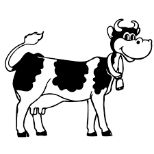Vaca Blanca Y Negra HD DibujosWikicom