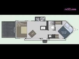 Raptor 5th Wheel Toy Hauler Floor Plans by 2011 Keystone Raptor 26fs Toy Hauler Travel Trailer Youtube