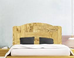 Backboards For Beds by Headboard Decal Etsy