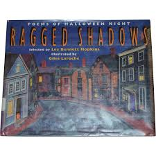 Poems About Halloween Night by 1993 Ragged Shadows Poems Of Halloween Night First Edition From
