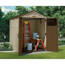 Suncast 7 X 7 Alpine Shed by 37 Best Garden Shed Options Images On Pinterest Resins Storage