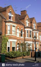 100 Victorian Property Bay Fronted Houses In The Park Estate Nottingham England