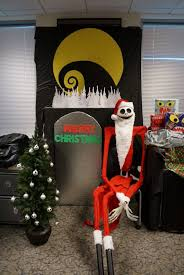 Funny Christmas Cubicle Decorating Ideas by Christmas Decor Creepy Nightmare Before Christmas Decorations