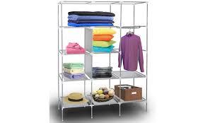 Up To  f on Closet Storage Organizer