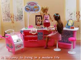 Barbie Living Room Furniture Set by Gift Plastic Play Set Candy And Ice Cream Shop Gift Set Doll