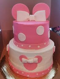 Baby Minnie Mouse Baby Shower Theme by Minnie Mouse Baby Shower Cake The Sweets Fairy Bakeshop
