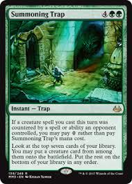 deck mtg modern modern green trap magic the gathering
