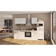 küchenzeile münchen vario 1 küche mit e geräten breite 280 cm hochglanz weiß