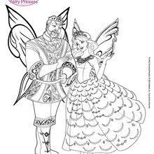 Catania Amazing Flying Fairy Coloringpagebarbiemariposa 13 M6h