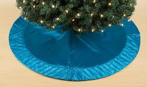 Kmart Christmas Tree Skirt by Sandra By Sandra Lee I Heart Christmas 52in Aqua Tree Skirt