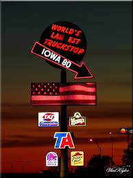 Check Out The Word's Largest Truck Stop And The Iowa 80 Trucking ...