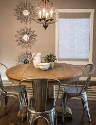 Round Kitchen Table Immense Best Rustic Dining Ideas Only On 5