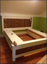 Alsa Queen Platform Bed by Queen Platform Bed Frame Wood Full Size Of Bed Framesdiy Twin