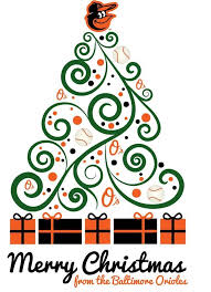 Christmas Tree Pickup Baltimore County by 44 Best Baltimore Orioles Holiday Spirit Images On Pinterest