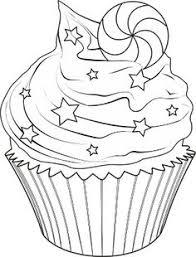 Cupcake Christmas Drawings 09