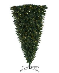 Slim Pre Lit Christmas Tree Canada by 7 Ft Upside Down Clear Lit Christmas Tree Christmas Tree Market
