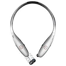 LG Tone Infinim HBS 900 Wireless Stereo Headset Silver Retail Packaging