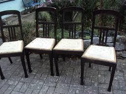 4 alte stühle wohnzimmerstühle