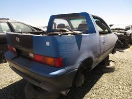 Junkyard Find: 1990 Geo Metro-amino Pickup - The Truth About Cars Junkyard Find 1990 Geo Metroamino Pickup The Truth About Cars Creative Metro Truckish Thing Project Ecomudder Mud Machine Bug Out Vehicle Photo Worst Ever Pinterest Dream Cars And 1991 Lsi Convertible 10l Manual Bangshiftcom Rough Start Stretch Is A Real And 1988 Chevy Sprint To Finish Hot Rod Network How Make A Cartruck Tow Dolly Cheap 10 Steps Car Shipping Rates Services Chevrolet Van Trying To Jump Longest Redneck Truck With Youtube 55 Mph Tbone Crash Results Colorado Gmc Canyon 1968 Overview Cargurus