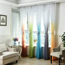 Navy Tan Brown Curtains Blue Curtain 2 Curtain Panels Etsy