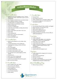 Printable Wedding Planning Checklist Our Suitable Capture Silverstream Retreat