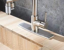 Bar Faucet Brushed Nickel by Eyekepper Brushed Nickel Kitchen Sink Faucet Pull Out Down Sprayer