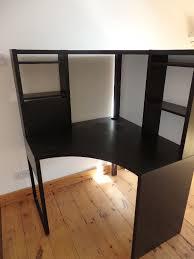 Ikea Micke Corner Desk White by Ikea Micke Corner Desk Black Brown In Clifton Bristol Gumtree