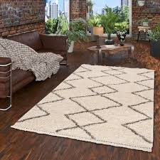 hochflor langflor shaggy teppiche in beige und naturfarben