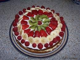 dessert avec creme fouettee gâteau aux fruits that s