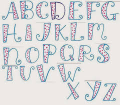 30 Day Drawing Challenge 13 Find A Favorite Font