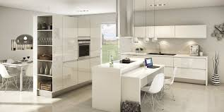 cuisine blanche mur taupe cuisine blanc sur mur gris