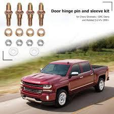 100 Chevy Gmc Trucks 2pcsset Car Door Hinges Pin Bushing Kits For GMC Truck OEM 19299324