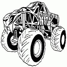 100 Monster Truck Coloring Book Free Printable Pages For Kids With The