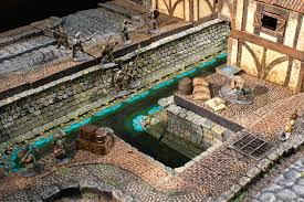 3d Dungeon Tiles Kickstarter by Dwarven Forge U0027s City Builder Kickstarter The Town Guard Descends