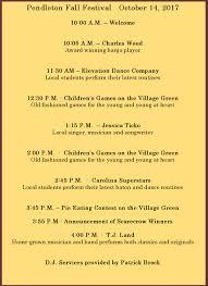 Spring Hope Pumpkin Festival Schedule by Festivals In Pendleton Sc