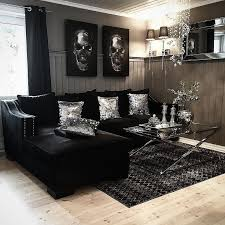 Living Room Decorating Ideas Black Leather Sofa by Gray And White Living Room Ideas Black Modern Sofa Furniture Black