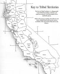 California Road Map Native American Tribes In Photo Album For Website