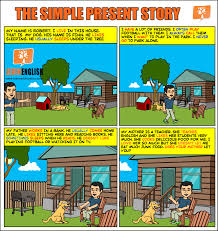 The simple present story