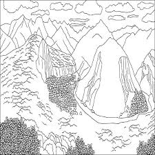 Mountain Animals Coloring Pages