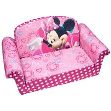 Mickey Mouse Flip Open Sofa by Amazon Com Marshmallow 2 In 1 Flip Open Sofa Disney Minnie U0027s Bow