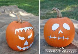 Free Frankenstein Pumpkin Stencil Printables by Easy Diy Spray Paint Decorated Pumpkins