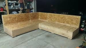 Sleeper Sofa Bar Shield Diy by Diy Sectional Sofa Frame Plans Sofa Ideas