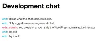 how to create chat rooms using for your users