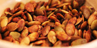 Roasted Shelled Pumpkin Seeds by Tamari And Sea Salt Pumpkin Seeds Recipes Food Network Canada