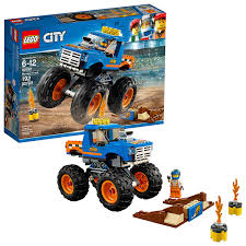 Amazon.com: LEGO City Monster Truck 60180 Building Kit (192 Piece ...