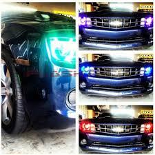 chevrolet camaro non rs v 3 fusion color change halo headlight kit