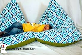 Diy Bean Bag Whenever In The Basement With Kids I Sit On Couch Anymore