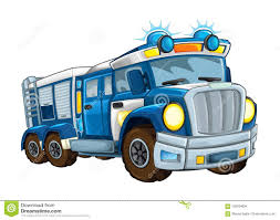 100 Funny Truck Pics Cartoon Happy And Police On White Background Smiling