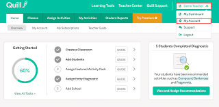 To Add Your School Go Teacher Dashboard And Then Select My Account