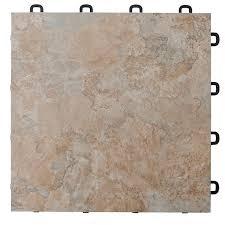 Interlocking Laminate Tiles Light Peak Slate
